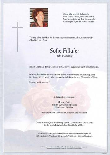 Sofie Fillafer