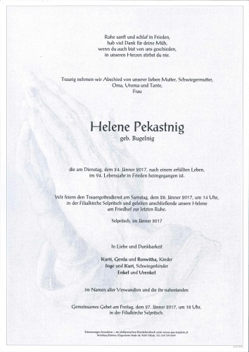 Helene Pekastnig