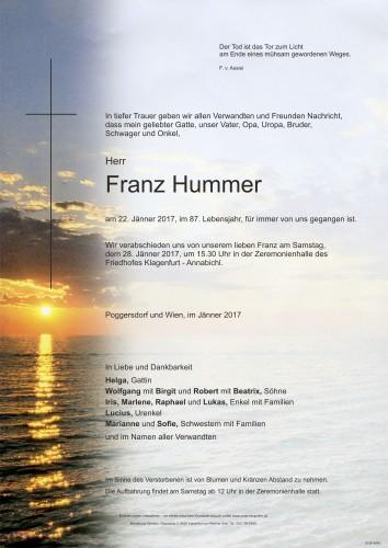 Franz Hummer