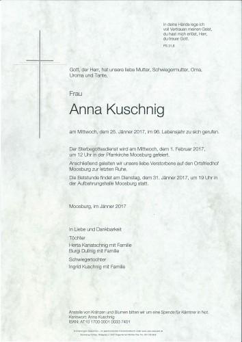 Anna Kuschnig