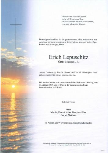 Erich Lepuschitz