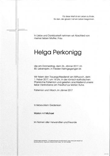 Helga Perkonigg