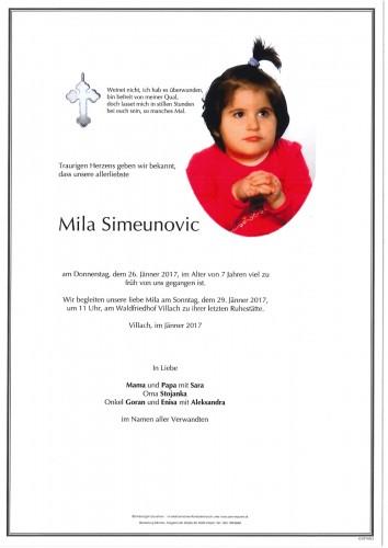 Mila Simeunovic
