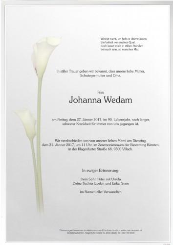 Johanna Wedam