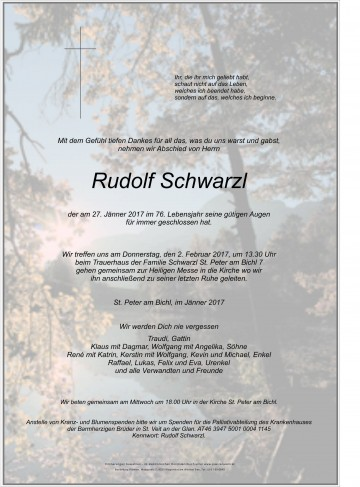 Rudolf Schwarzl