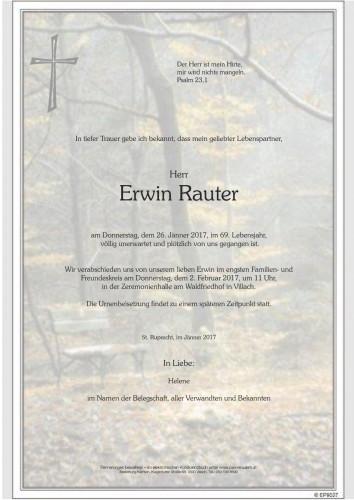 Erwin Rauter