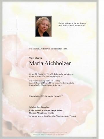 Mag. pharm. Maria Aichholzer