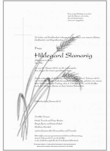 Hildegard Slamanig