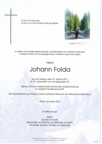 Johann Folda