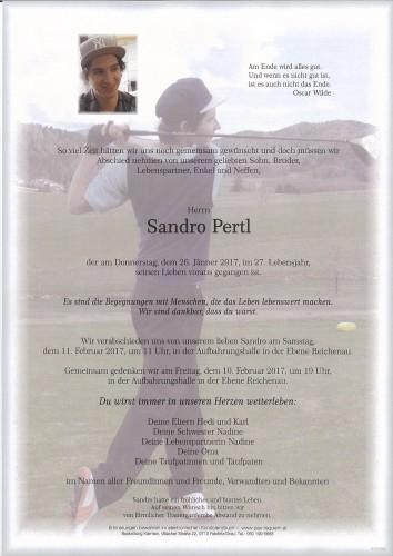 Sandro Pertl