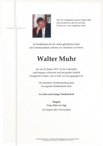 Walter Muhr