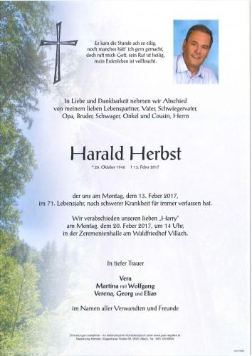 Harald Herbst