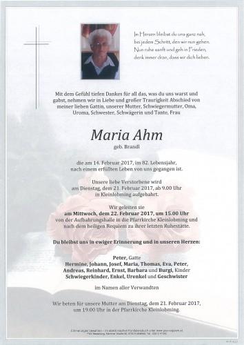 Maria Ahm
