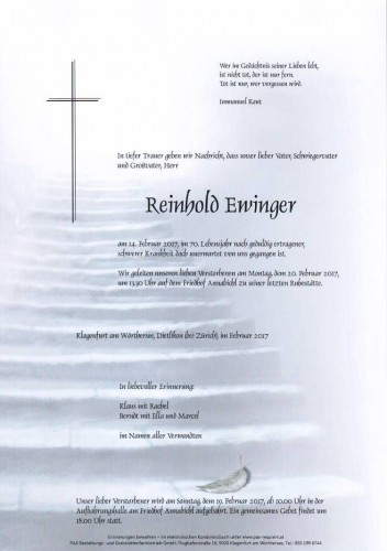 Reinhold Ewinger