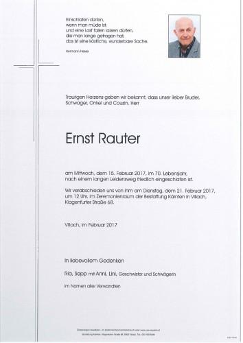 Ernst Rauter
