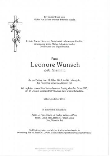 Leonore Wunsch