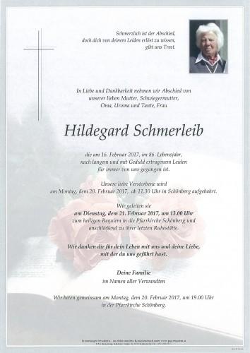 Hildegard Schmerleib