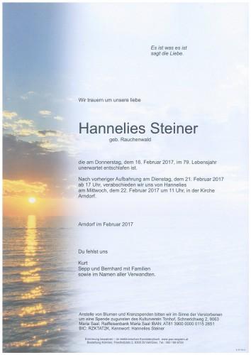 Hannelies Steiner