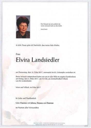 Elvira Landsiedler