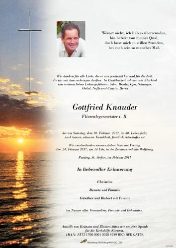 Gottfried Knauder