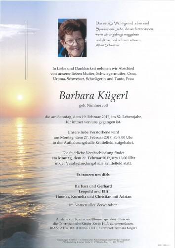 Barbara Kügerl
