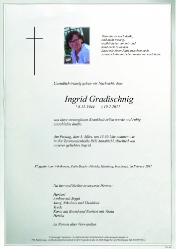 Ingrid Gradischnig