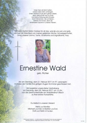 Ernestine Wald