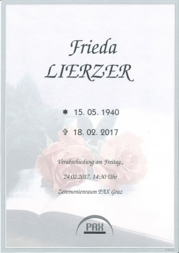 Frieda Lierzer