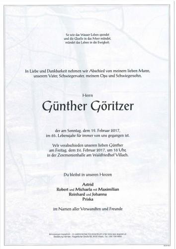 Günther Göritzer
