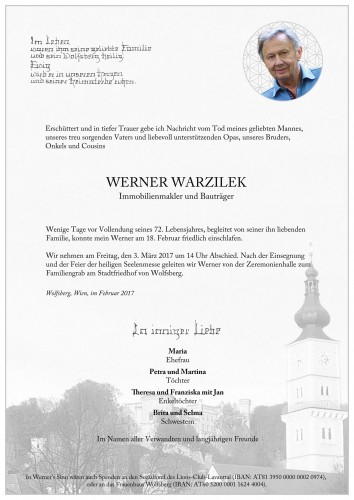 Werner Warzilek