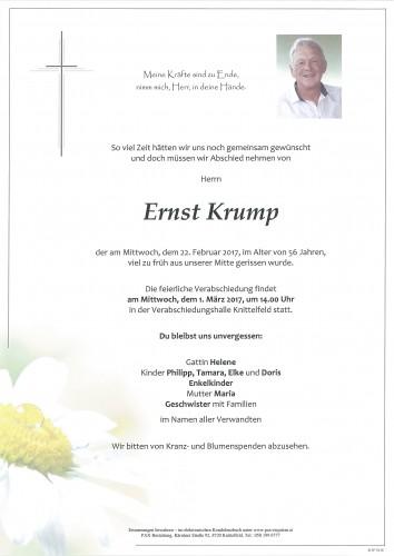 Ernst Krump