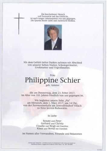 Philippine Schier