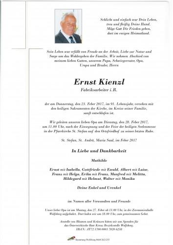 Ernst Kienzl