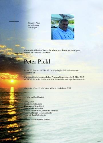 Peter Pickl