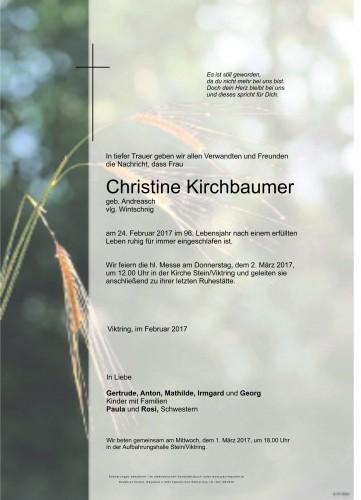 Christine Kirchbaumer