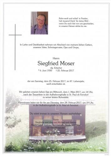 Siegfried Moser