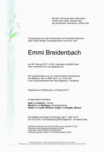 Emmi Breidenbach