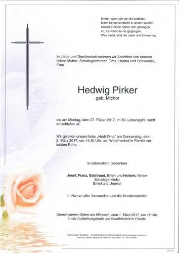 Hedwig Pirker