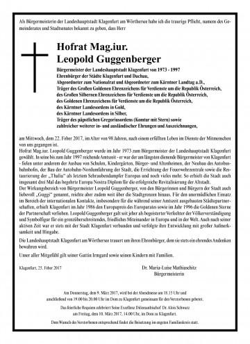 HR Mag. Leopold Guggenberger