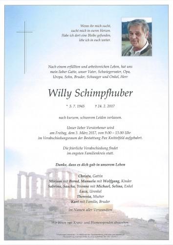 Wilhelm Schimpfhuber