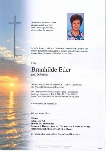 Brunhilde Eder