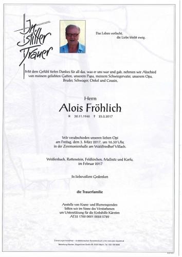 Alois Fröhlich
