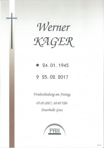 Werner Kager
