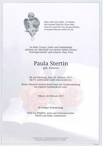 Paula Stertin