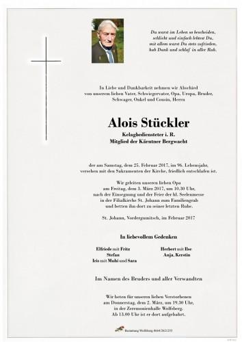 Alois Stückler