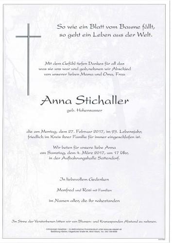 Anna Stichaller