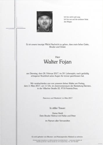 Walter Fojan