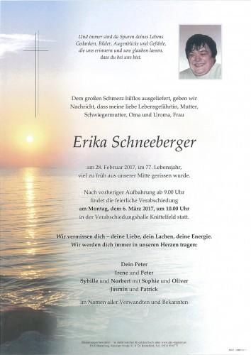 Erika Schneeberger