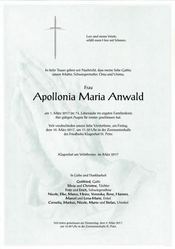 Apollonia Maria Anwald