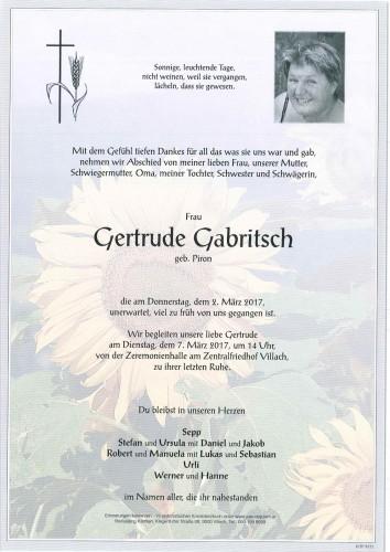 Gertrude Gabritsch